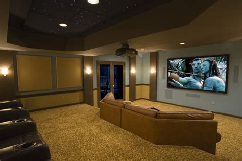 houzz media room unique custom theater seating light bright