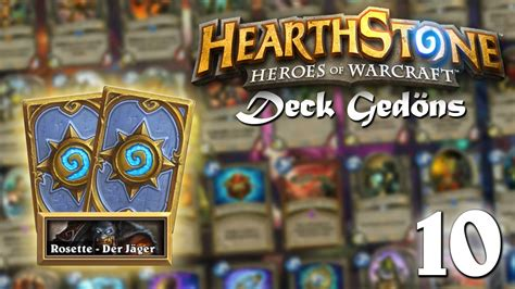 heartstone jäger deck spa 223 mit dem rosettenkasper 010 hearthstone deck