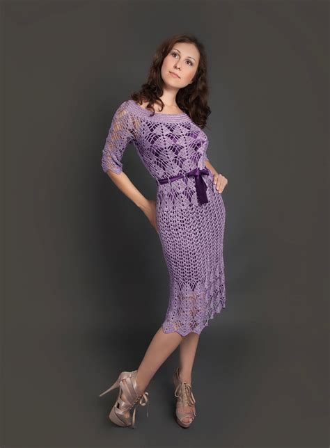 imagenes de vestidos de novia tejidos a crochet purple exclusive crochet dress filomena hand crochet dress