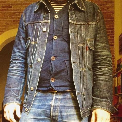 Jaket Dc X denim selvedge jacket denim