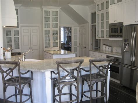 kitchen ceilings stacy nance interiors angled kitchen peninsula