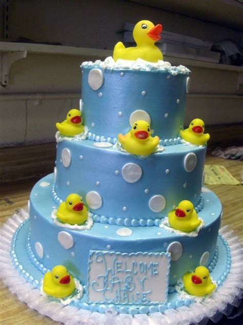 Rubber Duckie Baby Shower Cake by Rubber Ducky Cakes Baby Shower Baby Shower Rubber Ducky