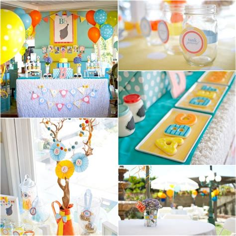 party themes like abc kara s party ideas silhouette abc themed first birthday