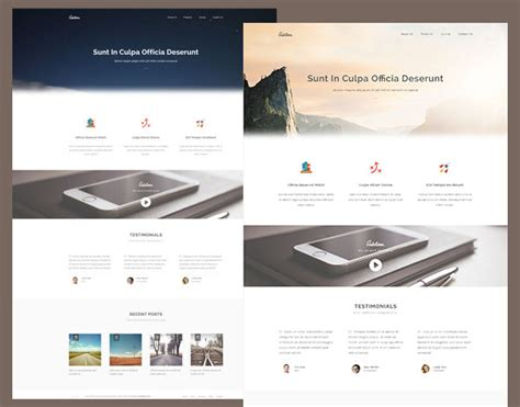 top free html5 templates 55 free responsive html5 css3 website templates
