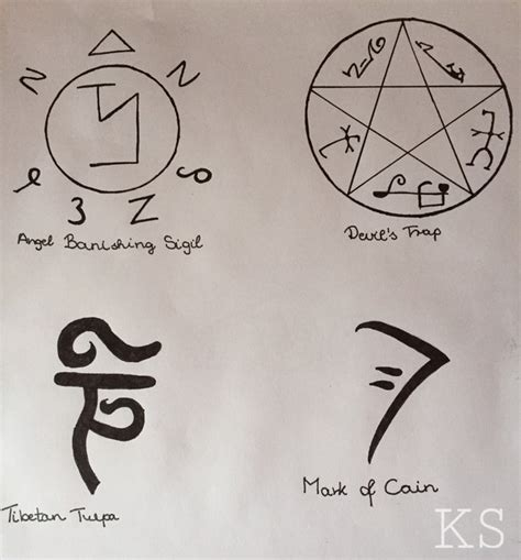 supernatural symbols image 4431728 by violanta on favim com