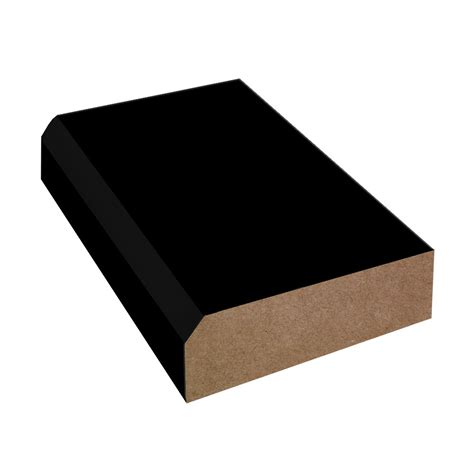 Black Laminate Countertop by Bevel Edge Laminate Countertop Trim Formica Black 909 90