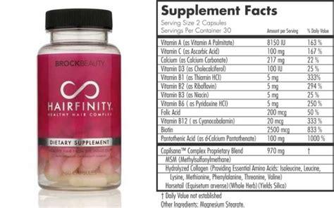 ingredients for dasgro hair supplements hairfinity side effects ingredients reviews african