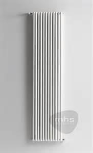 mhs reed slimline vertical aluminium tubular radiator by