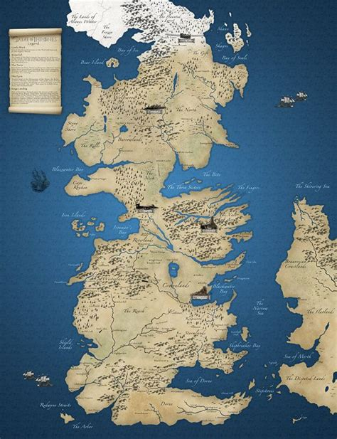 got map of thrones map buy 1 get 1 free legends of and map of westeros