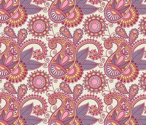 Batik Design Pdf | small batik paisley fabric dfly spoonflower