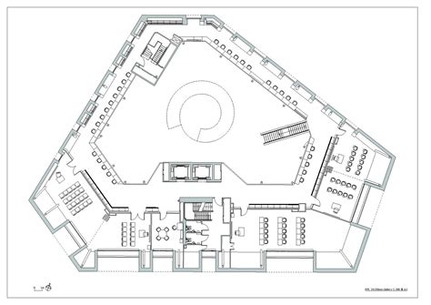 Modern Architecture Floor Plans Gallery Of Canada Water Library 22