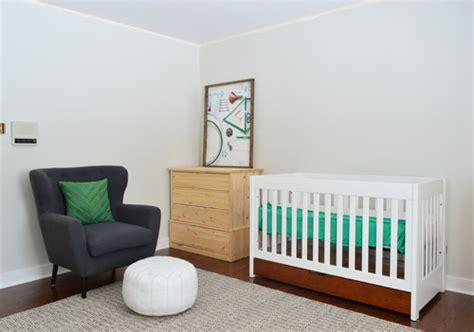 a soft neutral paint color for the nursery house