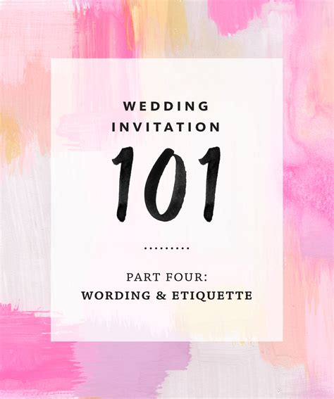 Wording Etiquette Wedding Invitations by Wedding Invitation Wording And Etiquette
