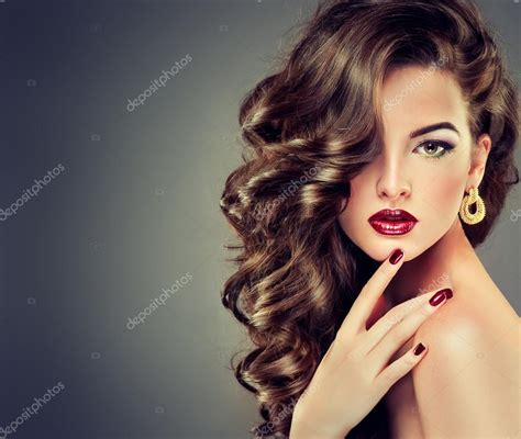 hair women with curly hair stock photo 169 edwardderule