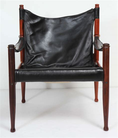 danish leather armchair danish rosewood and black leather armchair by erik worts