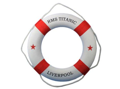 model boat life rings buy rms titanic decorative lifering 30 inch red