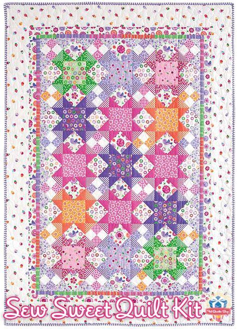 Sew Quilt by Quarter Shop S Jolly Jabber Sew Sweet Quilt Kit