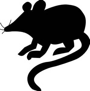 Mouse Silhouette Template by Mouse Silhouette 2 Clip At Clker Vector Clip