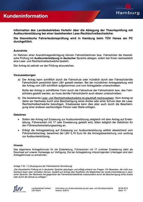 Vorlage Antrag Förderverein Die F 252 Hrerscheinpr 252 Fung Hinweise Und Ablauf Der Pr 252 Fung