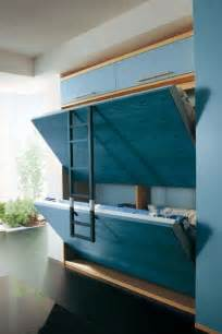 Hide Away Beds For Small Spaces by How To Build A Murphy Bunk Bed Diy Projects For Everyone
