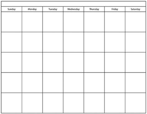 calendar blank template printable blank calendar templates free free calendar 2017