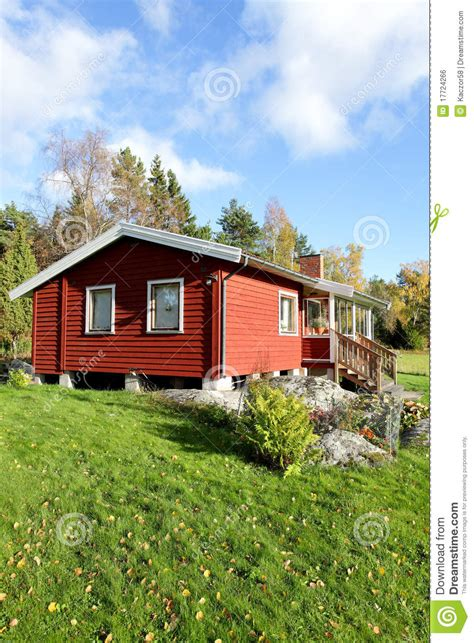 Cottages At Summer by Scandinavian Summer Cottage Stock Photo Image 17724266