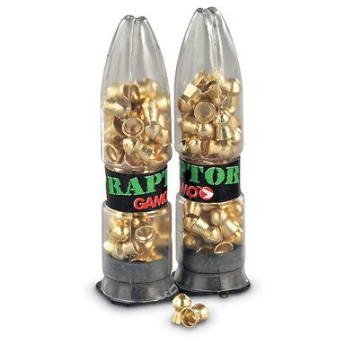 gamo raptor pba air rifle pellets, .177 caliber, 5.4 grain