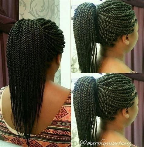 Rope Twists Hairstyles by Senegalese Twists 40 Ways To Turn Heads Quickly