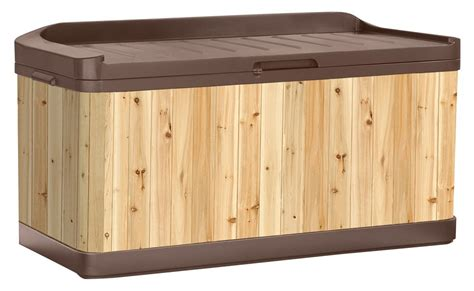 Deck Bin by 5 Best Wood Deck Box Durable And Stylish Solution For