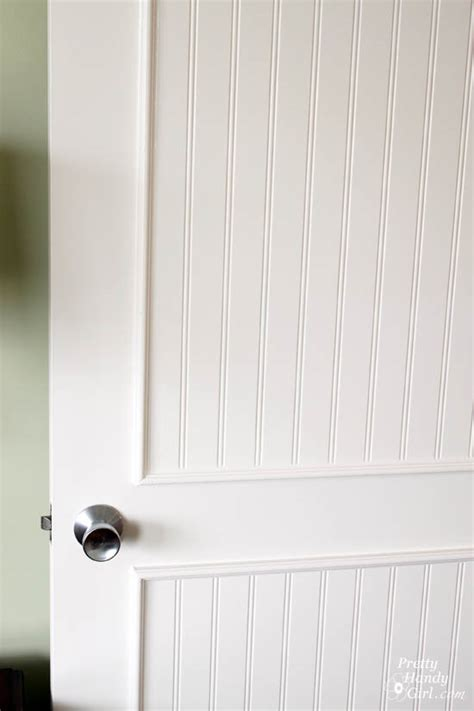 Six Panel Solid Wood Interior Doors How To Add Molding Panels To A Flat Door Pretty Handy