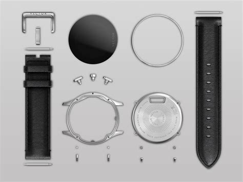 Asus Zenwatch2 Wi501q Grey Metal Straps Free Rubber faces on shoppinder