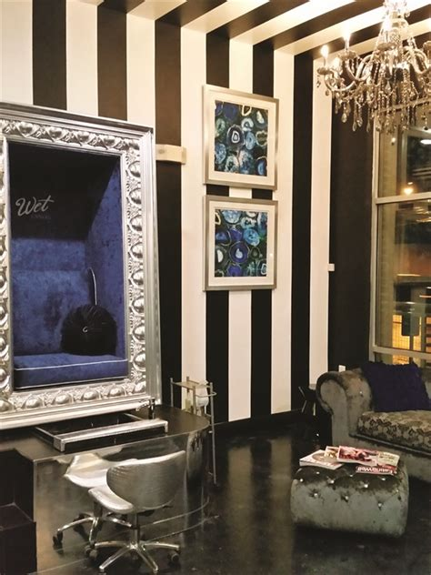 Chandelier Salon On The Road Canvas Nail Bar Business Nails Magazine