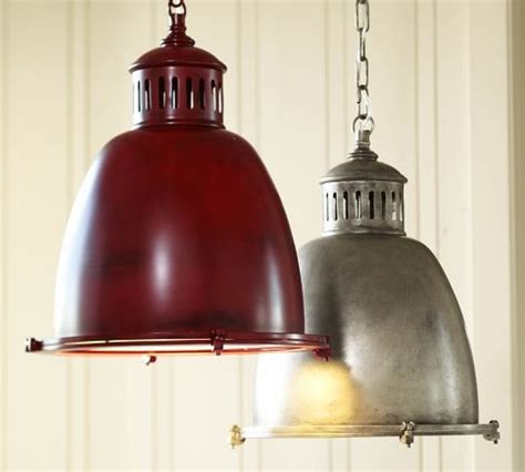 barn style pendant lights wilson industrial pendant pendant lighting by pottery barn