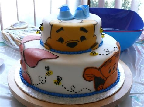 winnie the pooh cake template winnie the pooh shower cake cakecentral