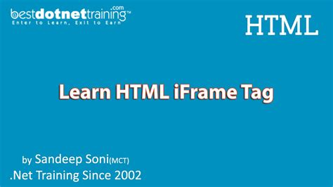 tutorial html iframe html tutorial html iframe exle and tutorial youtube