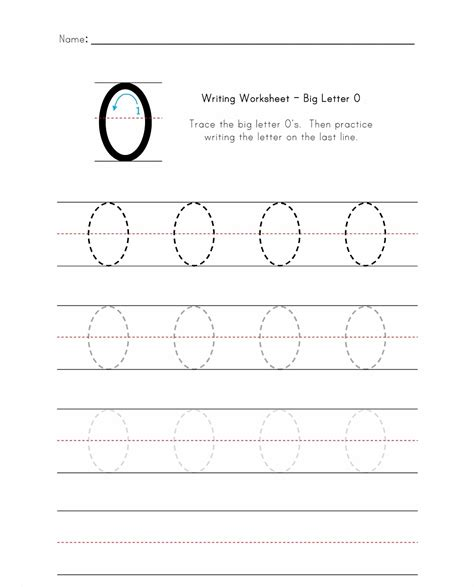letter o worksheets letter o worksheet for loving printable 1376