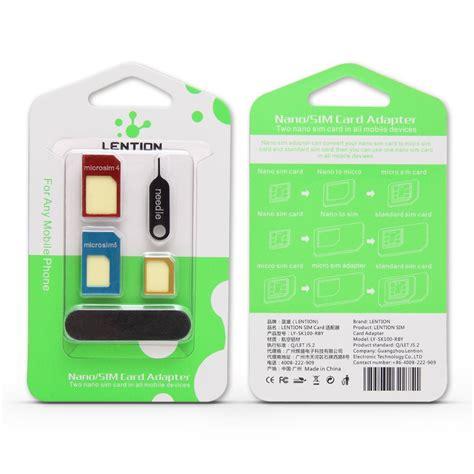 T Sim Card Adapter 3 In 1 Micro Nano Mini 3 in 1 nano sim card adapters micro sim standard sim card