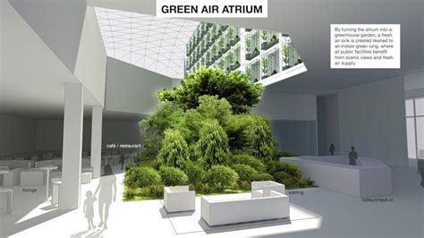 hotel plant layout green air hotel concept wants to upcycle china s old