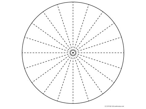 blank pie charts mathsfaculty