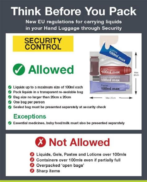 Liquids Allowed On Flights Again Thats Cosmetics To Me And You by Image Gallery Toiletries Allowance