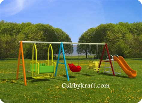 kids swing set awesome kids swing set cubbykraft swingsets