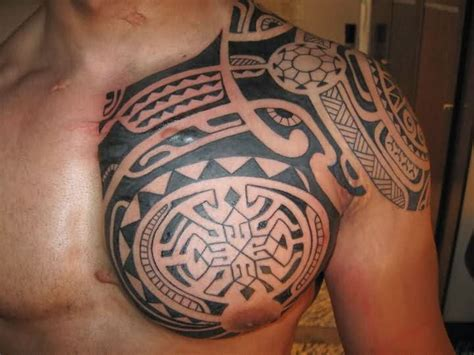 tribal breast tattoos 12 beautiful taino tribal tattoos only tribal