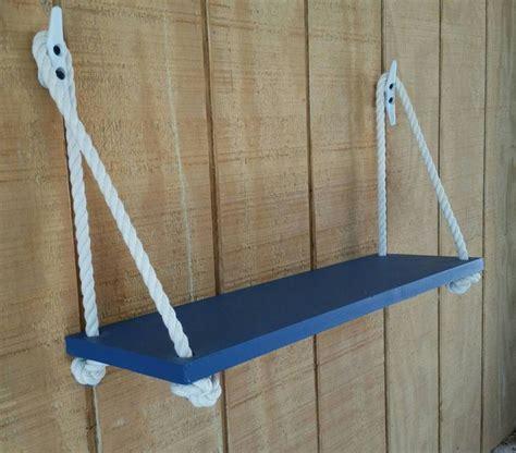 floating baby swing swing rope shelf nautical nursery nautical organization