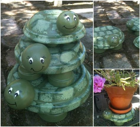 Terracotta Garden Decor 25 Decorative Terra Cotta Crafts Beesdiy