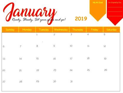 editable blank  calendar january daily printable   archives page