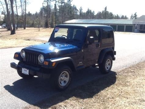 Jeep Right Drive Buy Used Jeep Wrangler 4x4 Right Drive In Exeter New