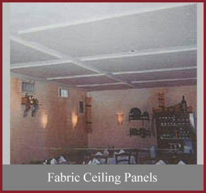 Fabric Ceiling Panels by Absorptive Materials Panels Acoustic Materials For New