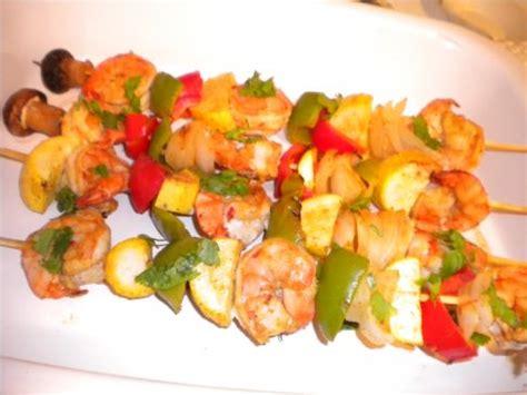 grilled shrimp kabobs recipe | sparkrecipes