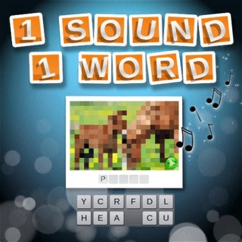 1 sound 1 word game play for free on html5games.com