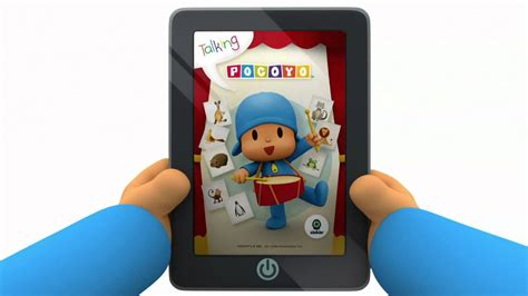 talking android talking pocoyo app ios android play with pocoyo